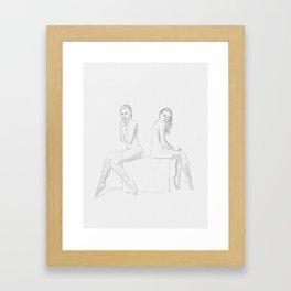 """Infinita belleza"" * 2 Framed Art Print"