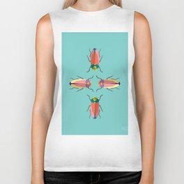 Happy beetles Biker Tank