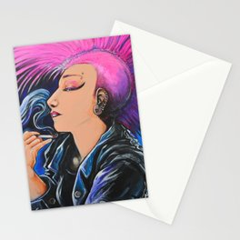 Punk Noveau Stationery Cards