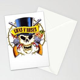 Gun N Roses Logo Stationery Cards