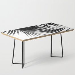 Palm Leaves Black & White Vibes #1 #tropical #decor #art #society6 Coffee Table