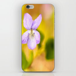 Wildflower Pansy Summer Blossom #decor #society6 #buyart iPhone Skin