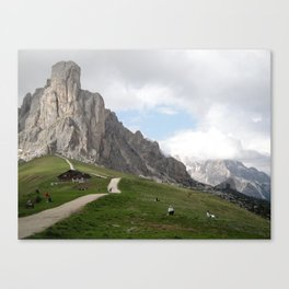 """Three peaks of Lavaredo"" Canvas Print"