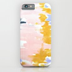 Multicolor spring abstract iPhone 6s Slim Case