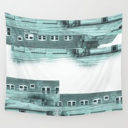 Rooftop Clear Wall Tapestry