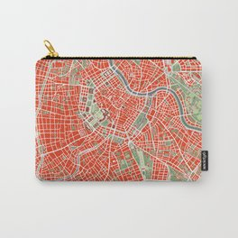 Vienna city map classic Carry-All Pouch