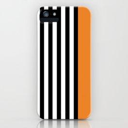 Liquorice allsorts, orange iPhone Case