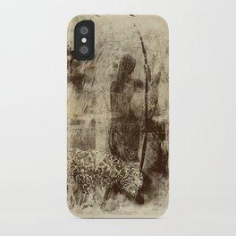 paleo warrior iPhone Case