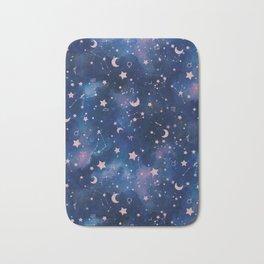 Zodiac - Watercolor Bath Mat