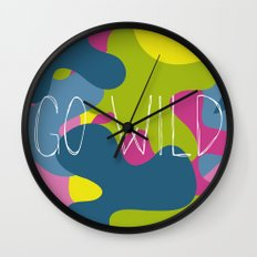 Go wild! Wall Clock