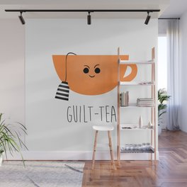 Guilt-tea Wall Mural