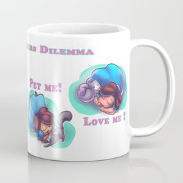 The cat owners delimma Coffee Mug