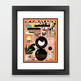 Chill Skill Framed Art Print