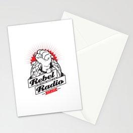 Rebel Radio Stationery Cards