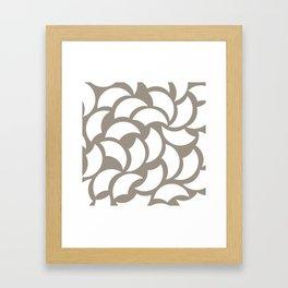 Basic Billows Framed Art Print