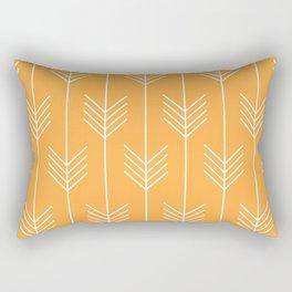 BELLE ((funky orange)) Rectangular Pillow