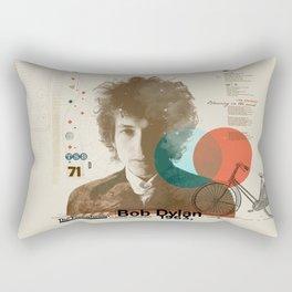 Bob Dylan Rectangular Pillow