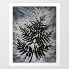 Fern Study 9 Art Print