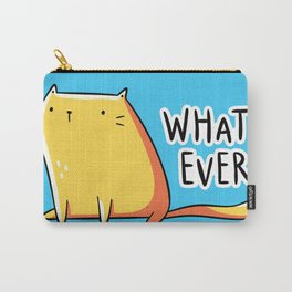 Whatever Cat Carry-All Pouch