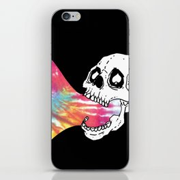 Tie-Die Vomit iPhone Skin