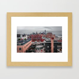 Several quadrilaterals Framed Art Print