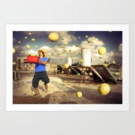 """""""Good Day For The Lemon Farmer"""" Art Print"""