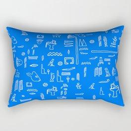 Que buen contenedor es el vidrio Rectangular Pillow