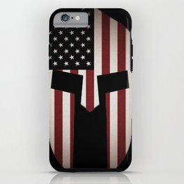 USA Spartan  iPhone Case