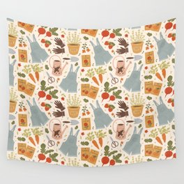 Gardening Things Wall Tapestry