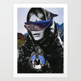 Dream fish. Art Print