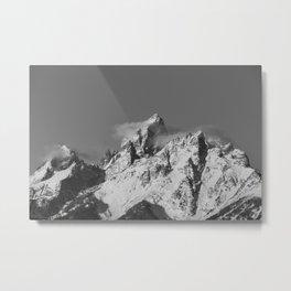 The Grand Tetons Metal Print