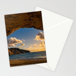 Porto Katsiki beach in Lefkas island  Stationery Cards