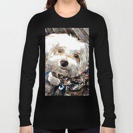 adorable little puppy Long Sleeve T-shirt