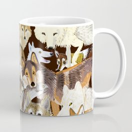 Wolves o´clock (Time to Wolf) Coffee Mug