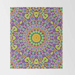 kaleidoscope Crystal Mandala G516 Throw Blanket
