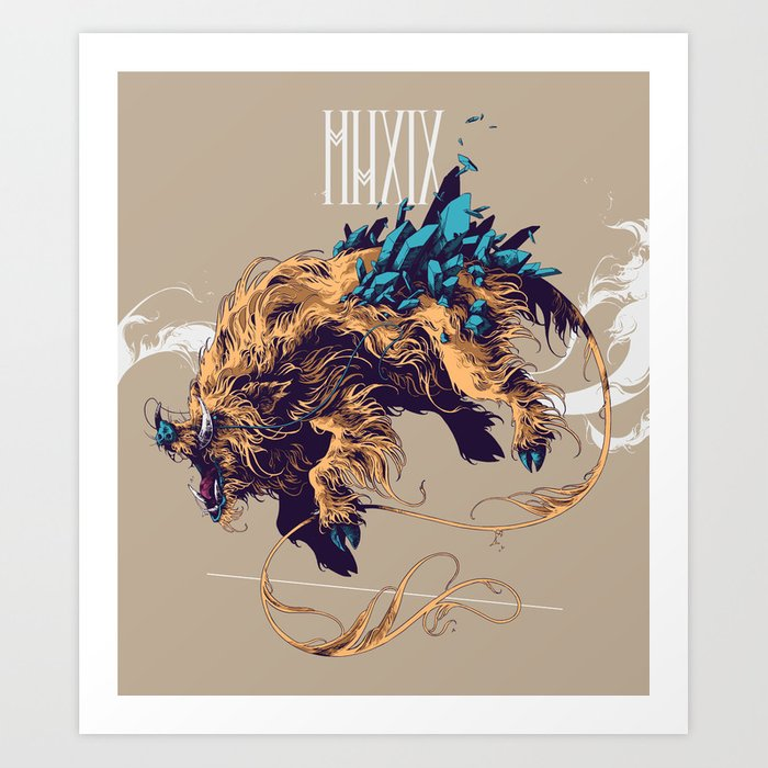 MMXIX Art Print