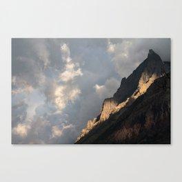 Glacier National Park Sunrise Canvas Print