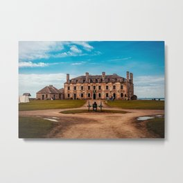 Fort Niagara - French Castle Metal Print