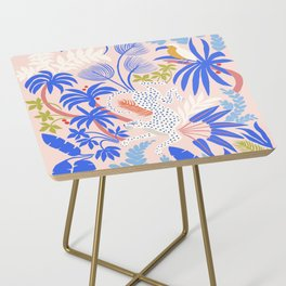 Rainforest Leopard Side Table