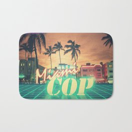 Miami Cop Bath Mat