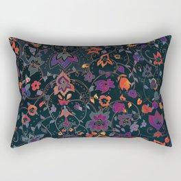 Bali Floral Rectangular Pillow
