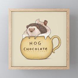 Hog Chocolate Framed Mini Art Print