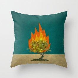 Exodus 3:2 Throw Pillow