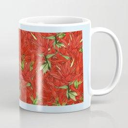 Wyoming in Flowers Coffee Mug