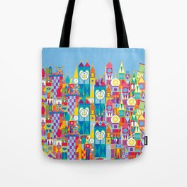 It's A Small World - Theme Park Inspired Tote Bag