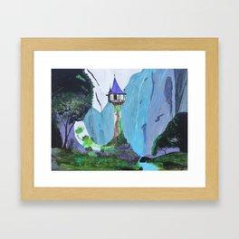 Repunzel's Tower Framed Art Print