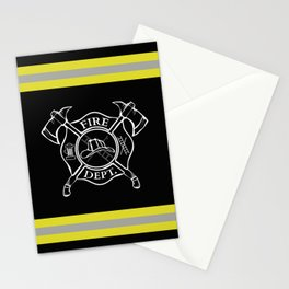 Firefighter Home Stationery Cards