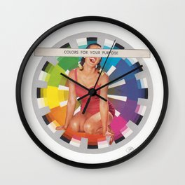 For Your Purpose Wall Clock