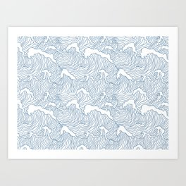 Japanese Wave Art Print