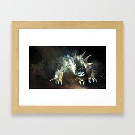 Zinogre Framed Art Print